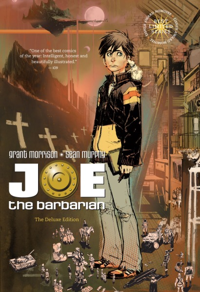 joe the barbarian cover