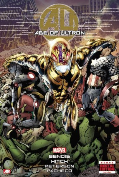 age of ultron hardcover large