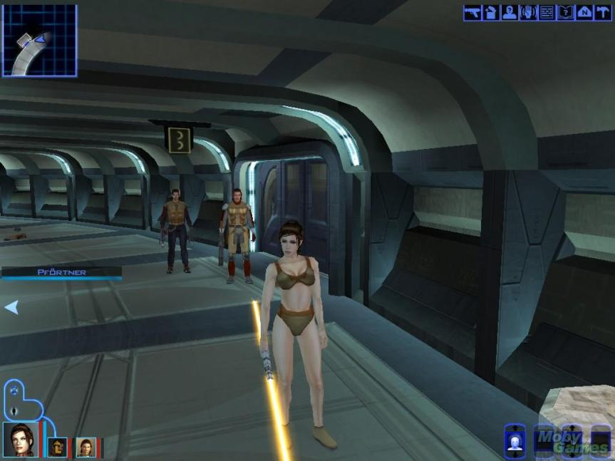 Also, you can fight Dark Jedi in your underwear. Because Internet.