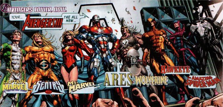 dark avengers 1