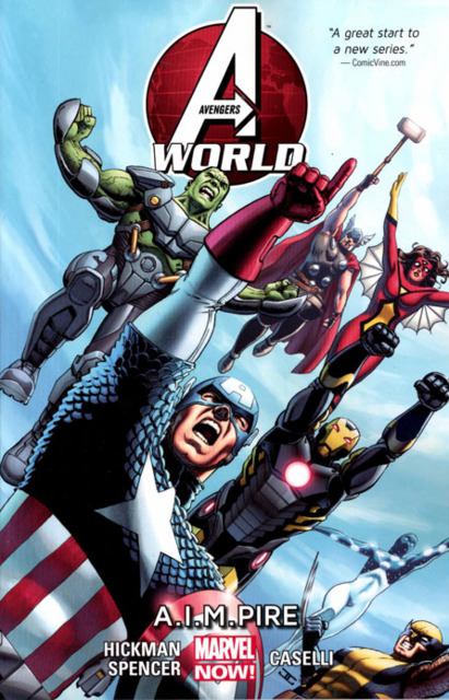 avengers world cover