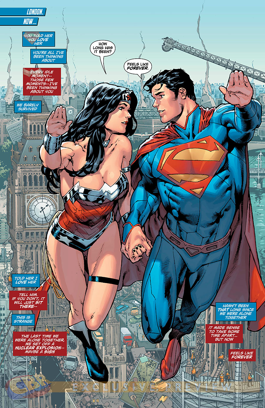 Superman And Wonder Woman Couple