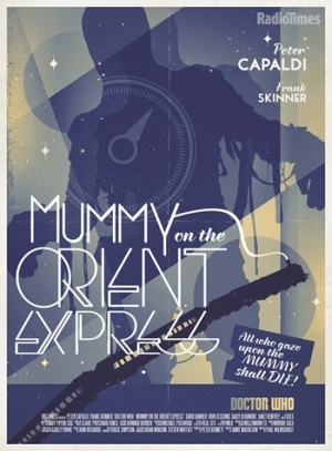 mummy on the orient express poster