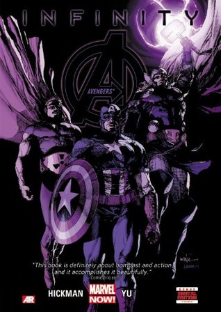 avengers infinity cover