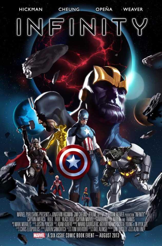 avengers infinity poster