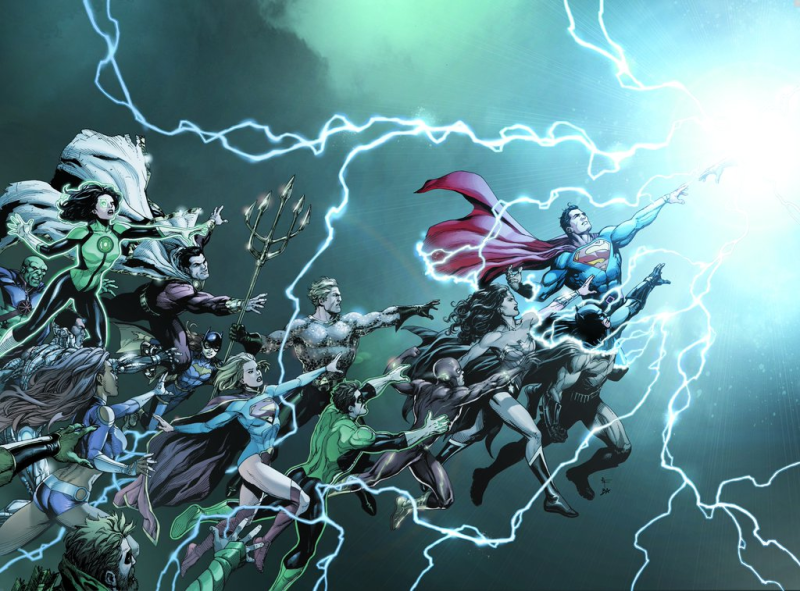 dc rebirth cover