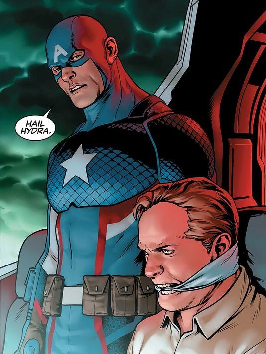 Image result for Captain america: Steve Rogers Issue 1